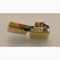 Продам зажигалку Zippo 29653 Gold Plated Golden Scroll