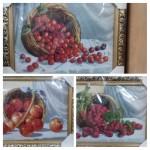 Картина гобелен Корзина с фруктами
