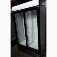 Холодильний шкаф-купе б/у. Скляні двері розсувні