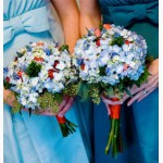 Свадебный букет , бутоньерка жениху в подарок