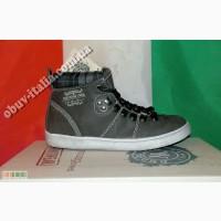 Кеды детские кожаные фирмы You Young Coveri оригинал из Италии#65279;