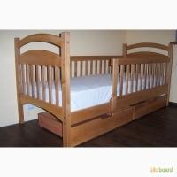В Наличии! Кровать детская Карина Люкс усиленная с ящиками и бортиками
