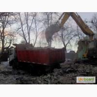 Демонтаж кирпичного дома. Снос и вывоз кирпичных домов