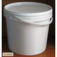Продам ведра пластиковые, пищевые, белые, 20л