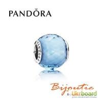 Оригинал шарм PANDORA голубой кристалл 791722NBS