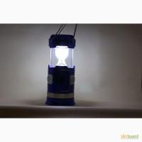 Кемпинговый Фонарь - на солнечной батареи YD-3588 с функцией заряжать телефон
