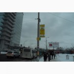 Реклама на столбах аренда холдеров Украина