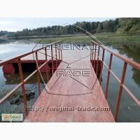 Понтоны, рыбацкие мостики, дачные понтоны, плавающие беседки