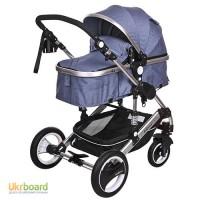 Детская коляска 535-Q3, фото в живую. Есть расцветки розовая, синяя и бежевая