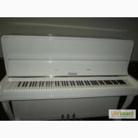 Купить белое пианино в Киеве. Восторг от ярко белого пианино