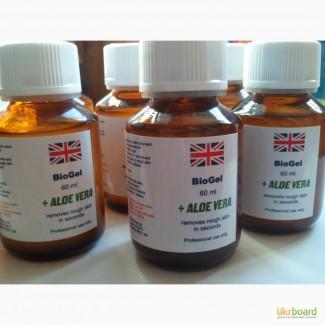Гель Биопедикюр с алоэ (Великобритания) для удаления кутикулы, натопившей