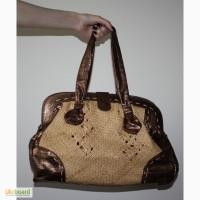 Роскошная сумка соломка новая