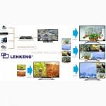 HDMI 4х1 мультивизор-коммутатор LenKeng LKV401MS