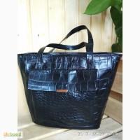 Женская hand-made сумка из натуральной кожи