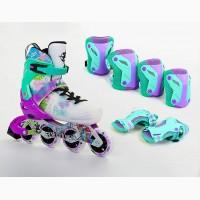 Роликовые коньки Spring - стильный дизайн, супер качество. 30-41 р-р