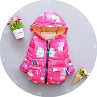 Зимняя куртка Bibicola для девочек Плотные хлопковые Супер качество
