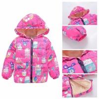 Куртка Весенняя Bibicola для девочек Плотные хлопковые Супер качество