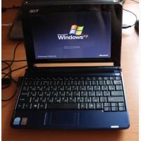 Маленький, производительный нетбук Acer Aspire ZG5., (батарея 1, 5часа)