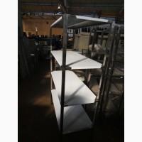 Стеллажи из нержавеющей стали для кухни в кафе, столовой, ресторане, кондитерской
