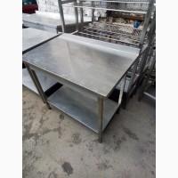 Стол из нержавейки для кухни 1000*600 БУ