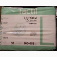 Дышащие подгузники для взрослых Tactil (M и L)