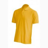 Мужская футболка поло, горчичный цвет