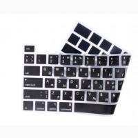 Накладка на клавиатуру MacBook New Air 2011 11, 6 EU enter русский шрифт
