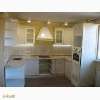 Кухни под заказ с деревянными фасадами
