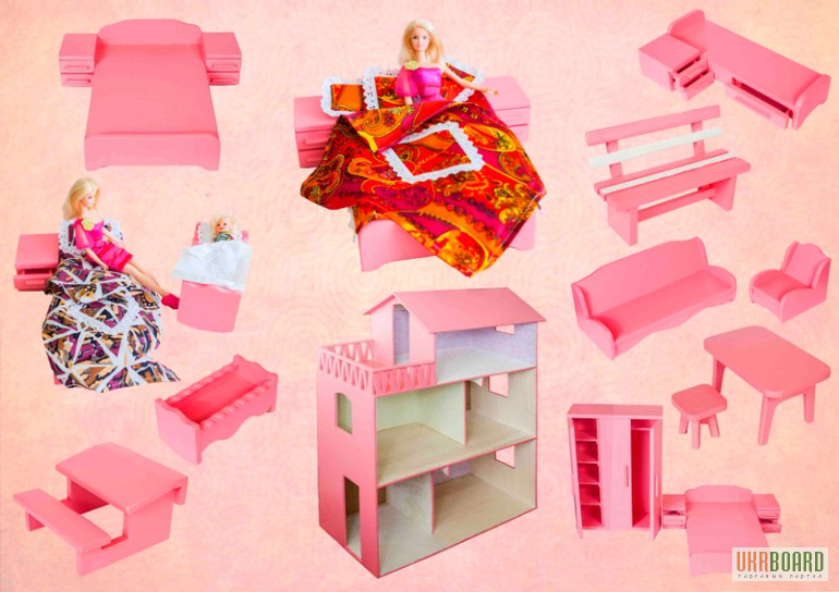 Игрушечная мебель для куклы своими руками 631