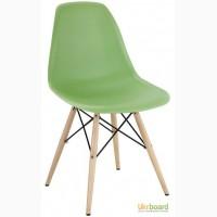 Стул Пэрис вуд (Paris wood), дизайнерский стул из пластика Пэрис вуд Украина