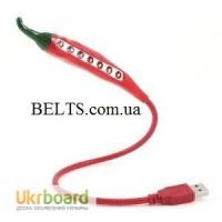 USB лампа, светодиодный светильник «Чили», Led Energy Saving L