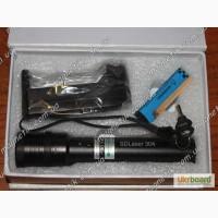 Cверхмощный прожигающий зеленый лазер 6000 mW (6 Вт) с фокусировкой