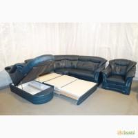 Б/у кожаная мебель для гостинной