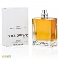 Dolce Gabbana The One For Men туалетная вода 100 ml. (Тестер Дольче Габбана Зе Уан Мен)