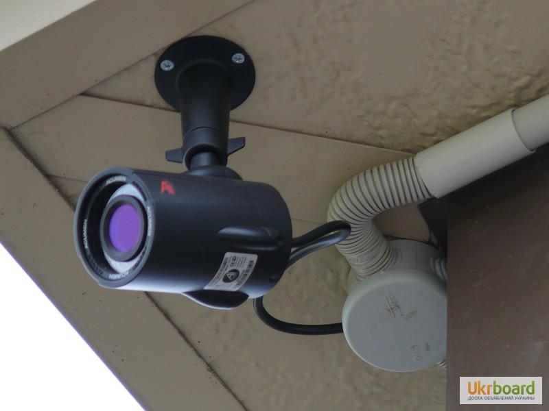 Как установить видеонаблюдение в частном доме