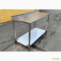 Стол металлический из нержавеющей стали. Разделочный. Нержавейка