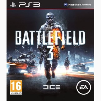 Battlefield 3 для PS3 диск, на русском