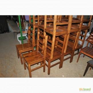 Продам стулья бу из натурального дерева бук для ресторана, кафе, бара