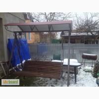 Качеля, гойдалка садова для дачі-чудове виконання
