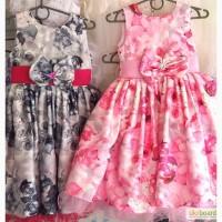 Детские нарядные праздничные платья Розочка, возраст 5-6 лет