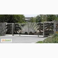 Элитные металлические кованые ворота, заборы, калитки, решетки, оградки