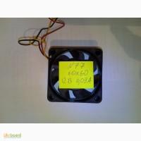 N77 Вентилятор кулер cooler охлаждение 12В 0, 09А 60х60