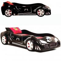 Детская кровать Extra turbo power (черный)
