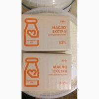 Масло сливочное 73% ДСТУ(4399:2005)