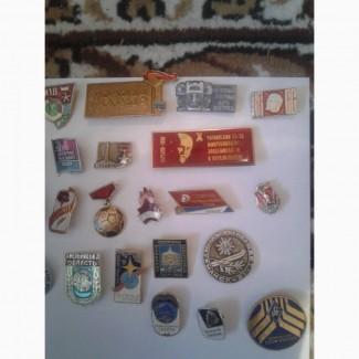 Продам значки СССР
