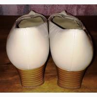 Кожаные туфли Hotter, б/у, 39-40Р