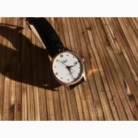 Продам золотые Швейцарские часы с бриллиантами Vulcain