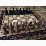 Шахматные фигуры, из древисины ценных пород