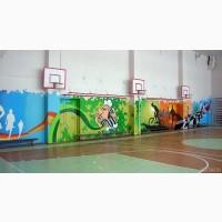 Роспись стен: детские комнаты, кухни, кафе, бары, клубы, офисы, магазины и др