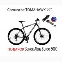 Велосипед Comanche Tomahawk 29#039;#039; + подарок замок Abus Bordo 6000/90 black SH